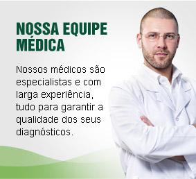 Nossa equipe médica